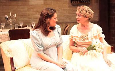 Catherine McGraffin and Vanessa Downing in The Glass Menagerie