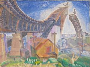 Grace Cossington Smith Bridge in-curve 1930