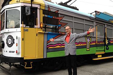 Melbourne Art Tram 2013
